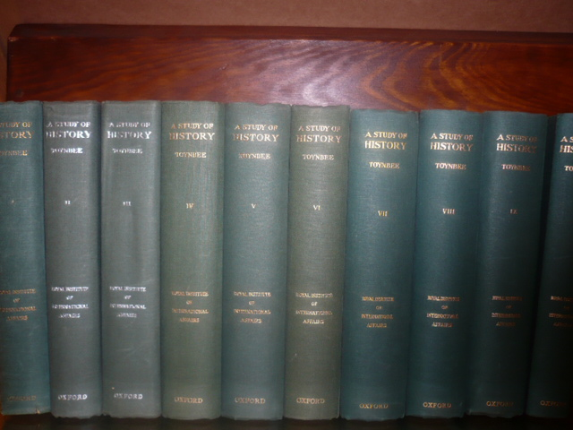 A STUDY OF HISTORY TOYNBEE 10 VOL