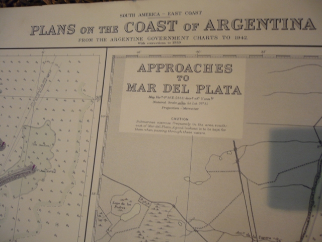 Admiralty . South America East Coast Plans on the Coast of Argentina.