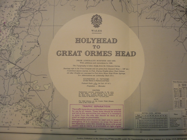 Wales . Holyhead to Great Ormes Head