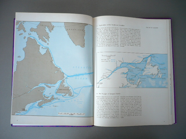 DGG Kerr. Historical Atlas of Canada. Third Revised Edition-Metric