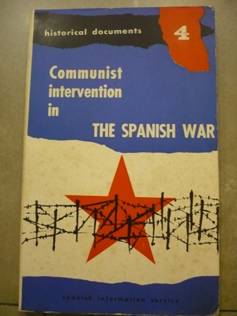 Communist intervention in the Spanish war  (1936-1939)