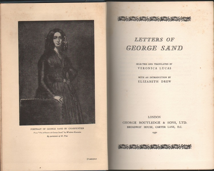 Letters of George Sand