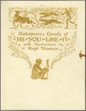 SHAKESPEARE'S COMEDY AS YOU LIKE IT